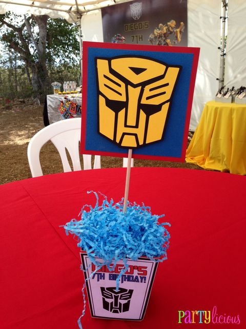 "Photo 1 of 19: Transformers / Birthday ""{Transformers Birthday}"" | Catch My Party"
