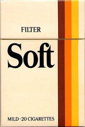 Soft  #cigarette #vintage #design