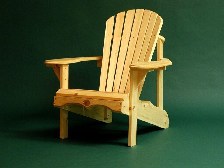 Bear Chair Adirondack Kit Pine
