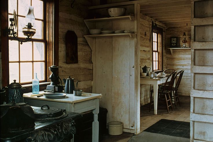 Theodore Roosevelt National Park Where Wildlife Buffalo Still Roam Old Country Kitchens House Cabin Kitchens