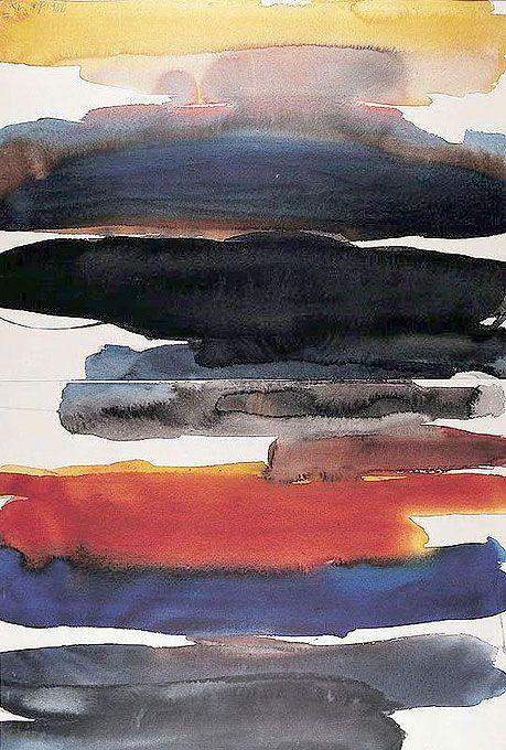 GRETCHEN ALBRECHT (b.1943) Untitled Watercolour 1110 x 740