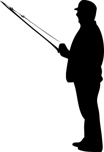 Fisherman, Silhouette, Fishing, Rod - Free Image on ...