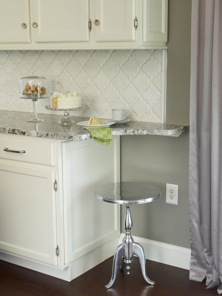 Bianco-Antico-with-white-cabinets-and-beveled-Arabesque-Tiles-.jpeg 780×1,039 pixels