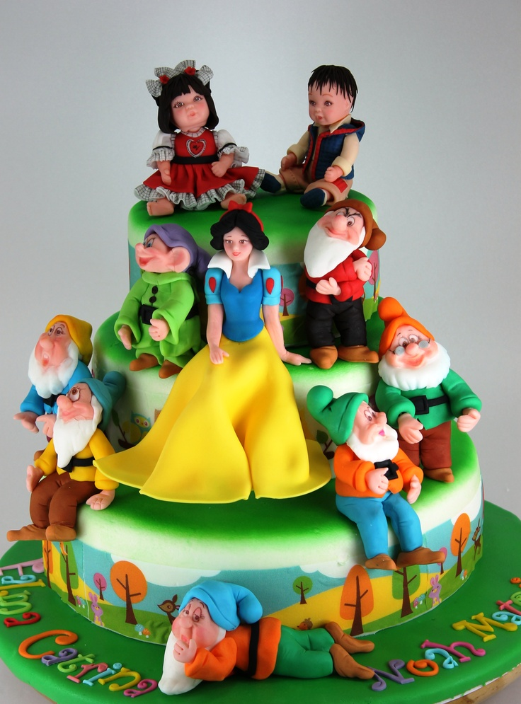 Best Cakes For Girls Images On Pinterest Cakes Biscuits - Disney birthday cake ideas
