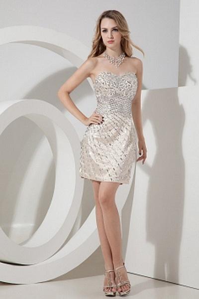 Sheath-Column Elastic Satin Romantic Graduation Dresses wr0963 - http://www.weddingrobe.co.uk/sheath-column-elastic-satin-romantic-graduation-dresses-wr0963.html - NECKLINE: Sweetheart. FABRIC: Elastic Satin. SLEEVE: Sleeveless. COLOR: Pink. SILHOUETTE: S