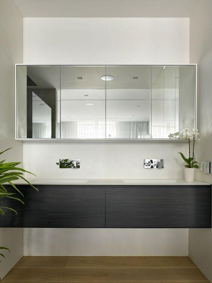 wohnung design eine moderne konsole im badezimmer mit waschbecken - Wohnung Design