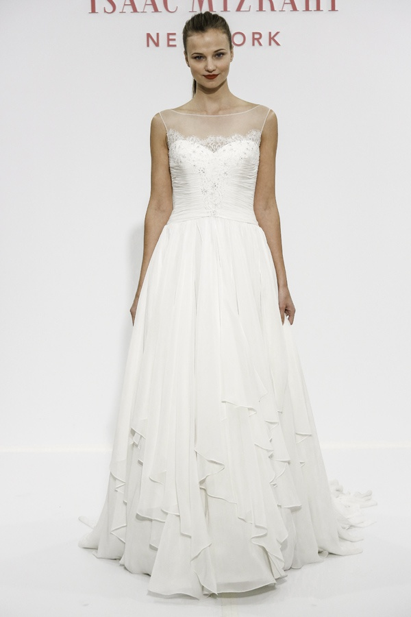 Isaac Mizrahi for Kleinfeld Bridal SS14
