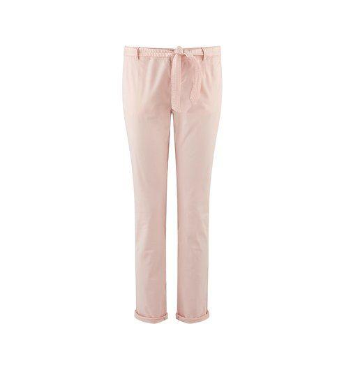 Pantalon en toile Femme rose pâle - Promod