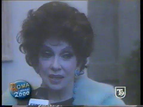 Auguri di Natale Vip 2000 Gina Lollobrigida, Pippo Baudo, Gabriel Garko,...