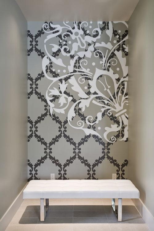 247 best Designer Walls images on Pinterest Plaster walls