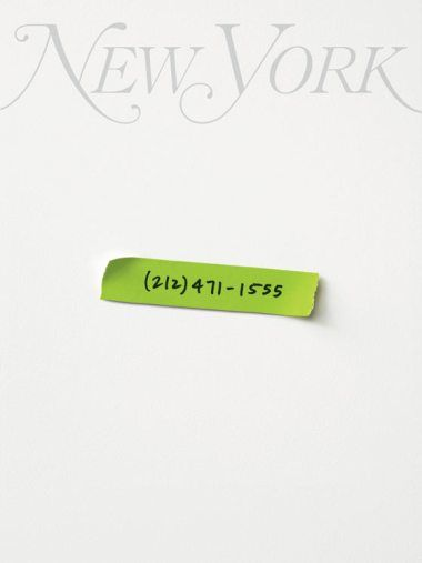 A beautifully designed (if rejected), interactive cover for New York Magazine's annual Best of New York issue.  Designed in 2008 by Wolff Olins, the cover's phone number, if rung, contained a voice mail message related to the magazine's current content.