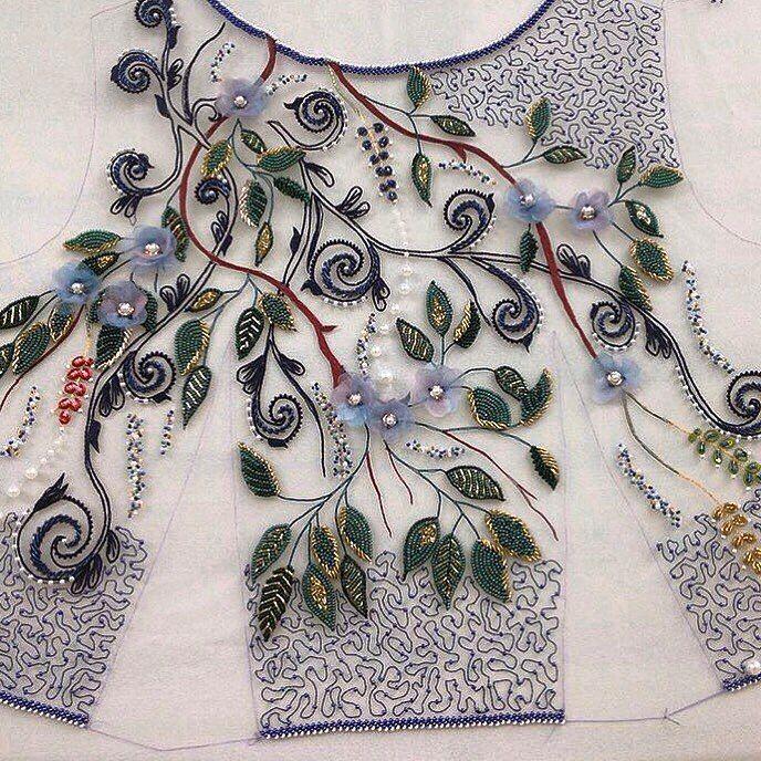 Школа кутюрной вышивки Виктории Бойко