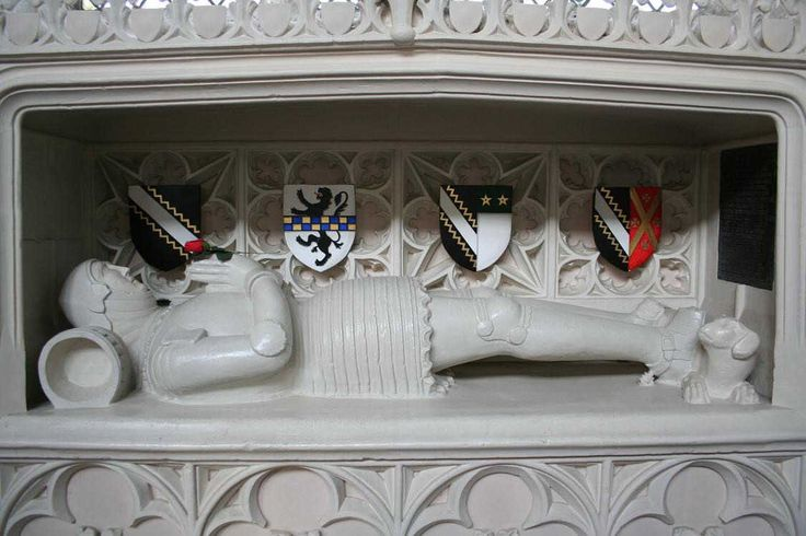 William Clopton 'Sir Knight' 1375–1446 BIRTH 1375 • Long Melford, Suffolk, England DEATH 1446 AUG 04 • Melford, Suffolk, England 18th great-grandfather. Burial: Holy Trinity Churchyard, Long Melford, Suffolk, England (Eddy Family) Wife: Margery Francis