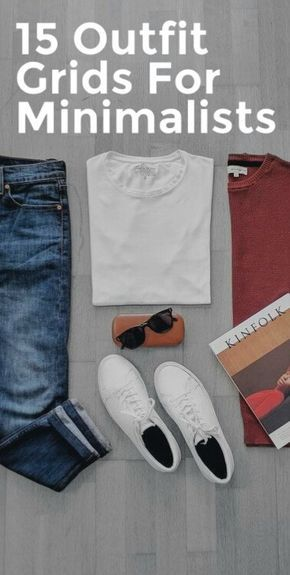 Awesome Outfit Grids For Minimalist #mensfashion #fallfashion #streetstyle