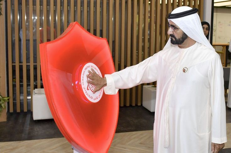 Sheikh Mohammed launches 'Dubai Cyber Security Strategy'