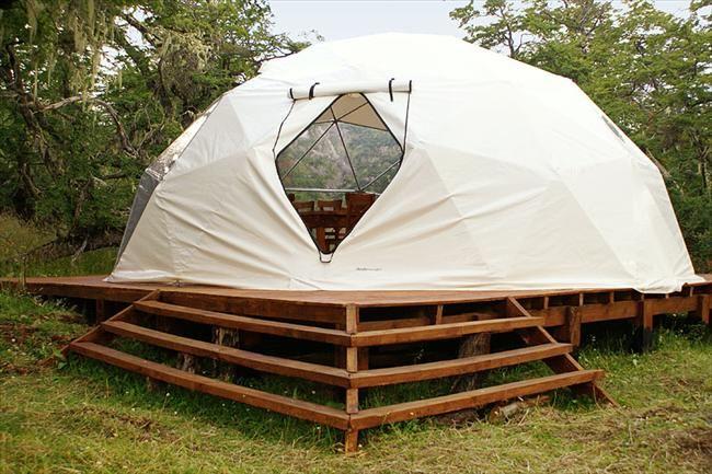 Domes in Patagonia | El Calafate Santa Cruz | Salt Lake Argentina Cabins | Adventure Lodging Patagonia