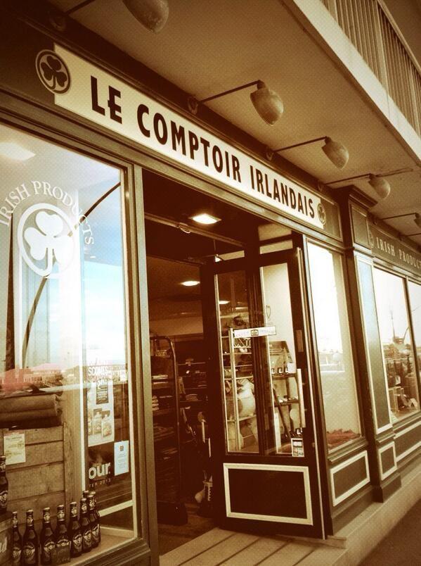 Comptoir Irlandais de #Cherbourg