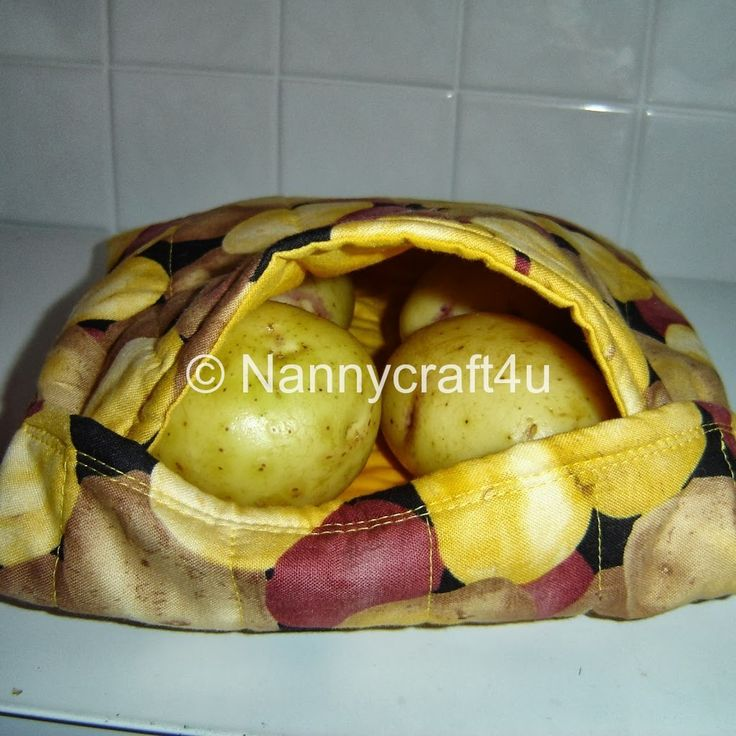 Today is test time for the Microwave Potato Bag