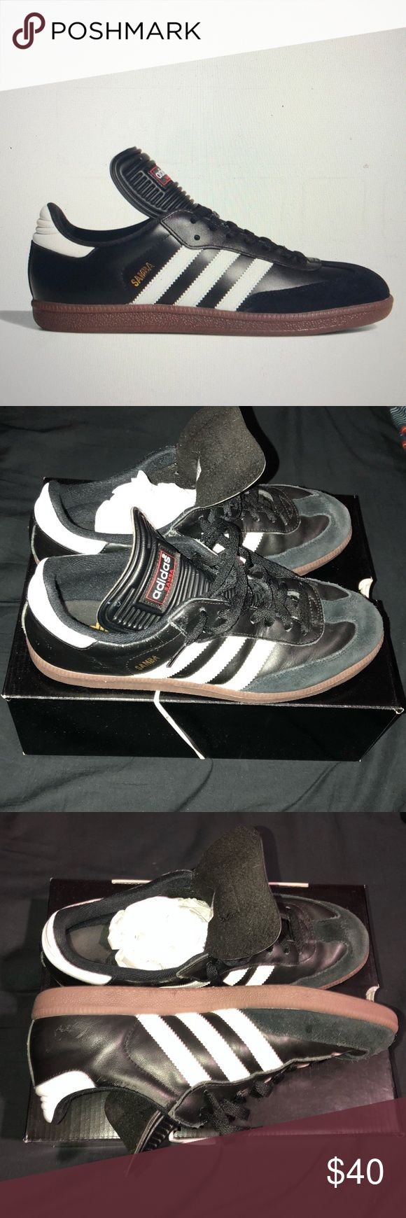 Adidas Samba Classic - Soccer GUC - No box  Normal wear on the toe box and some scuffing in right foot. (See image) adidas Shoes Athletic Shoes