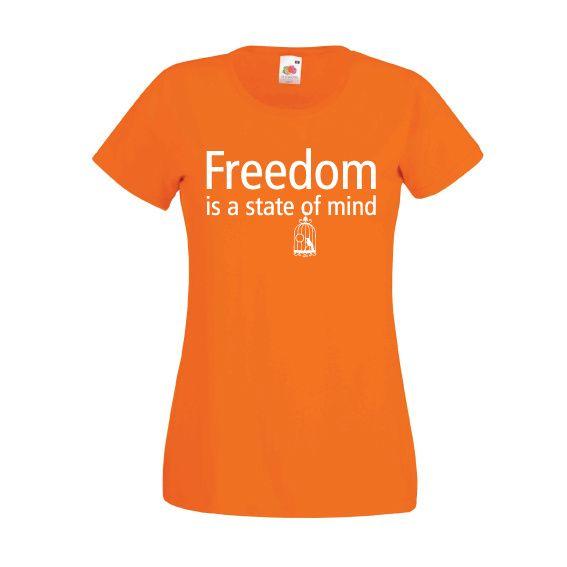 Tshirts Bevrijdingsdag 2017 | Freedom = a state of mind