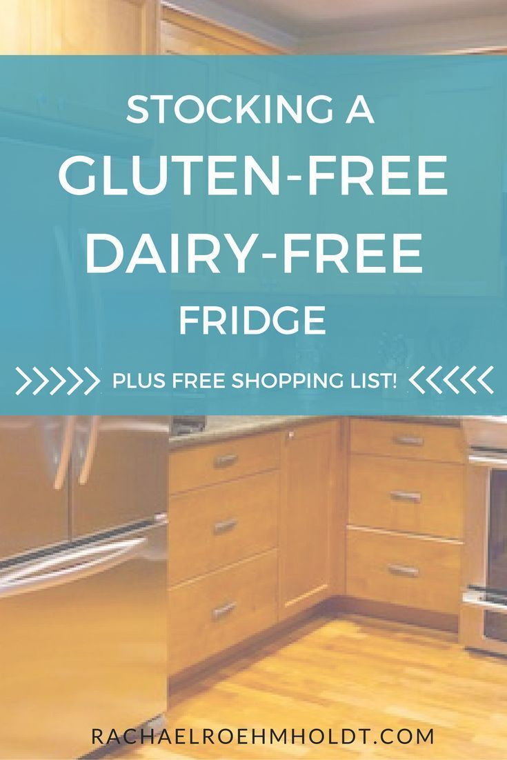 Making the leap to gluten-free dairy-free living? Check out this simple checklist of what to include in your gluten-free dairy-free fridge.