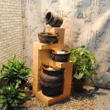 2014 europeu resina ornamental criativo feng shui características da água fonte de água interna ornamentos mobiliário doméstico acessórios presentes(China (Mainland))
