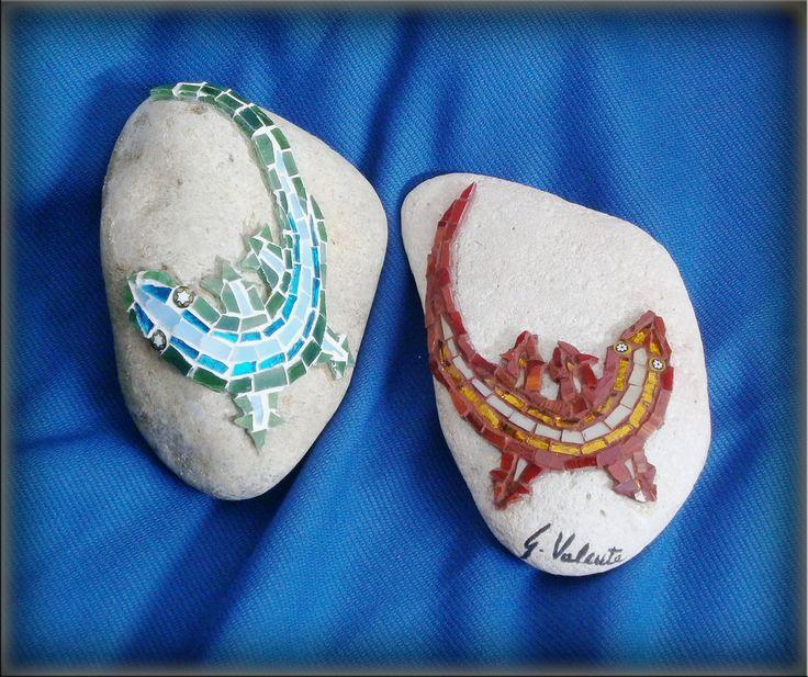 Mosaico su pietra