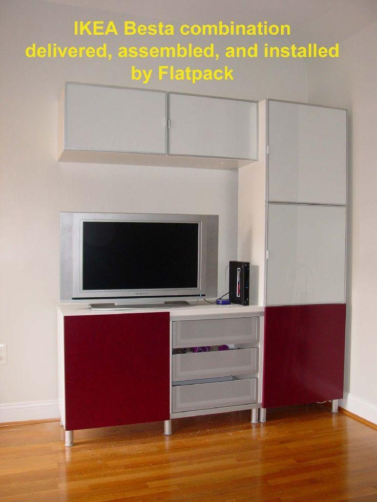 IKEA BESTÅ TV Storage Combination Article Number: 890.728.90 Https://www