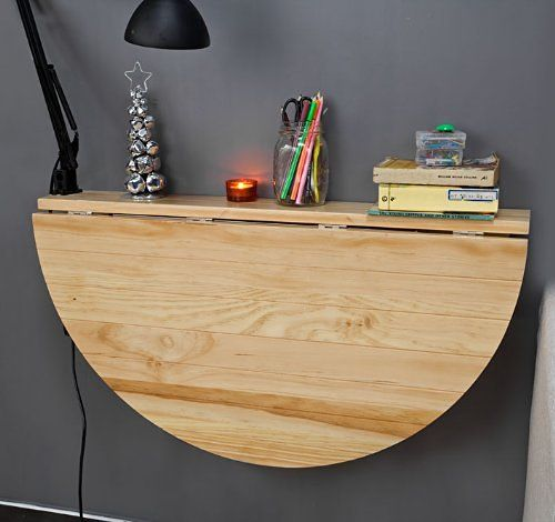 17 mejores ideas sobre mesas plegables cocina en pinterest - Mesa plegable cocina pared ...