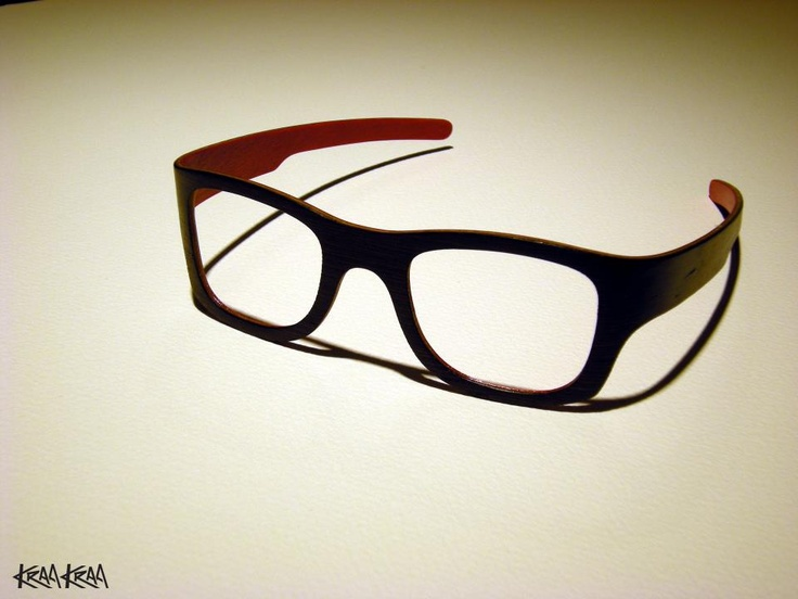 Wooden eye wear by Kraa Kraa from Finland