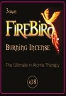 Fire Bird Incense natural flavor and fragrances designed to stimulate the mind and body.