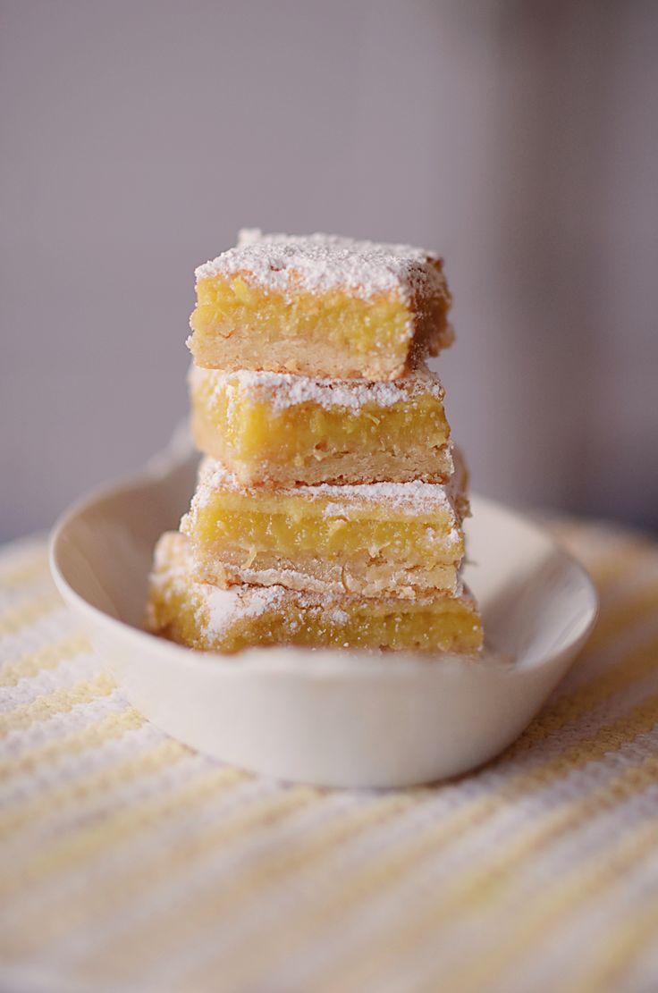lemon bars // citronsnitter   Emily Salomon