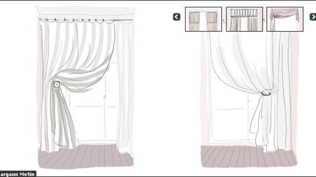 Donnez du style à vos rideaux