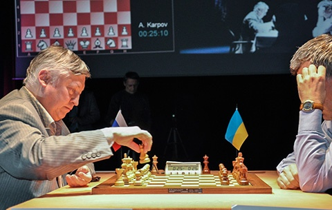 In the end, Anatoly Karpov would not be denied the title as he rolled back the clocks