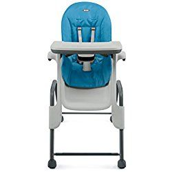 OXO Tot Seedling High Chair, Blue/Dark Gray