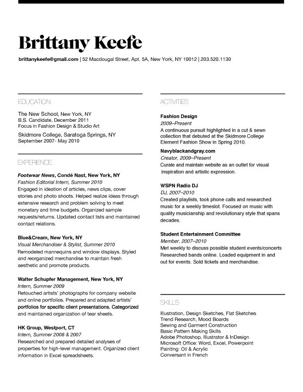 simple and sweet resume sle resume