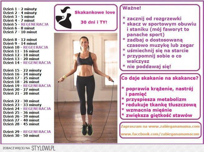 Skakanka - 30 dniowe wyzwanie! na Stylowi.pl