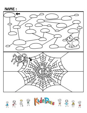 Medium Kids Maze Games #2  #Maze #brain #teaser #printable #game
