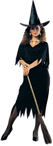 Rubie's Costume Haunted House Witch Costume, Black, Standard