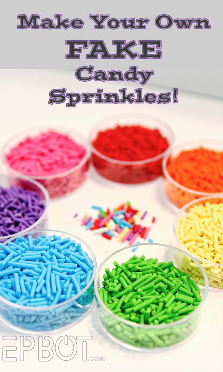 Faux sprinkles tutorial, great for jewelry & crafts!