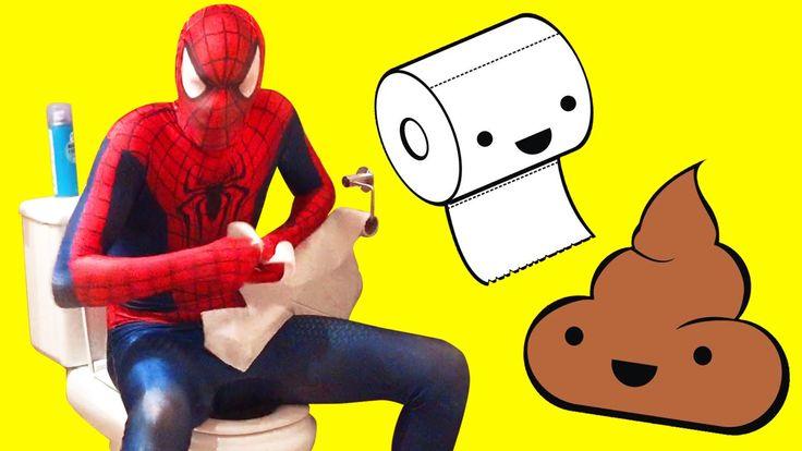 Spiderman routine morning  best fart,  Spiderman vs. Hulk turns w / in r... http://www.superheroesfunny.com/
