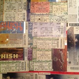 Lots of Phish Tickets....