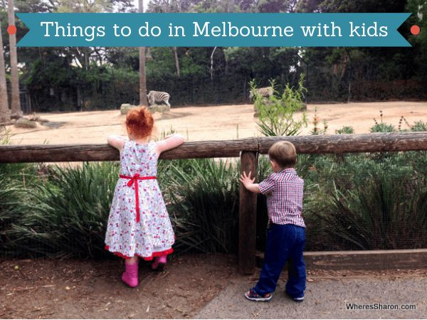 Lots of info about what to do in Melbourne with kids, including our top 10 things to do in Melbourne with kids from a local's perspective