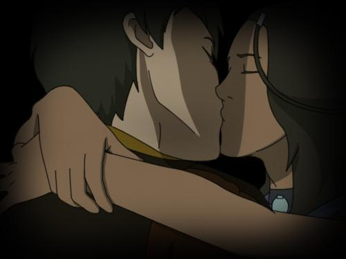 just found out that Zuko and Katara were SUPPOSED TO BE TOGETHER originally, but it was changed for the younger audience.<<When I found this out, I was so upset