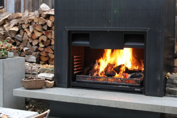 Fireplaces By Warmington Outdoor Fireplaces Gas Wood Open
