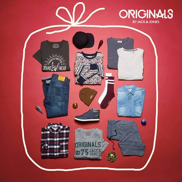 ORIGINALS by JACK & JONES has wrapped up the best, easy picks when it comes to great gift ideas. Yes, you can still make it in time for Christmas!