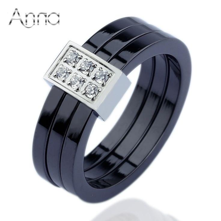 Купить товарA и N романтический юбилейная керамические кольца для женщин…