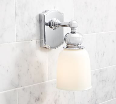 find this pin and more on bath sconces by potterybarn