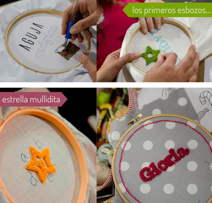DIY-bordado con aguja mágica http://idoproyect.com/blog/i-do-aguja-magica-proyect-asi-fue/