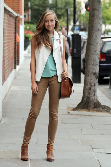 25  best ideas about Tan skinny jeans on Pinterest | Autumn skinny ...